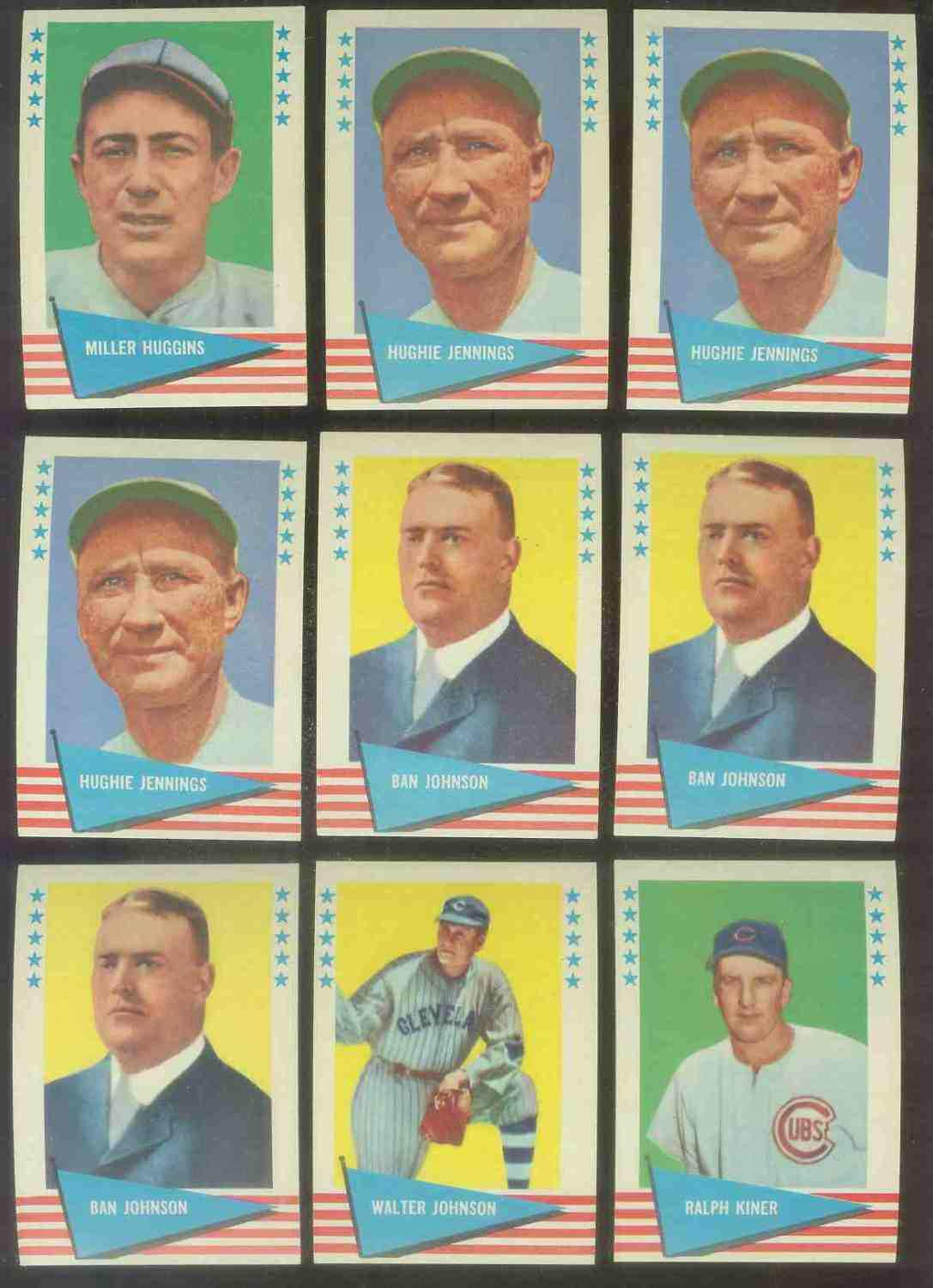 1961 Fleer #.50 Ralph Kiner (Cubs) Baseball cards value