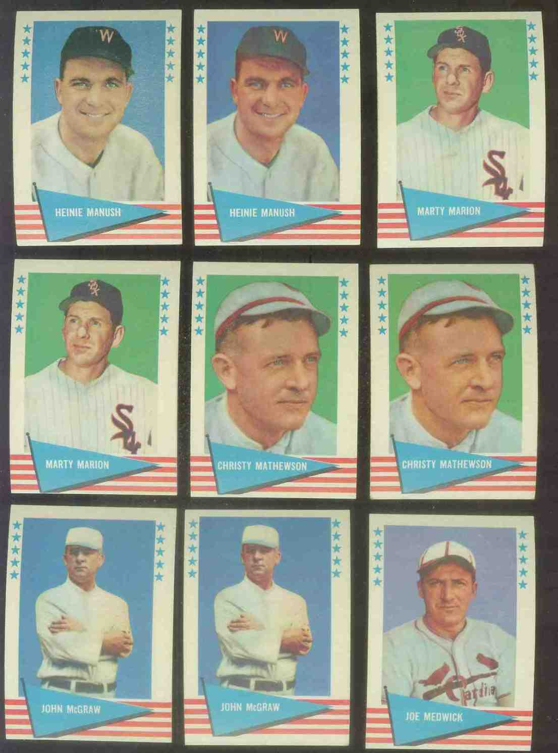 1961 Fleer #.59 Christy Mathewson (New York Giants) Baseball cards value
