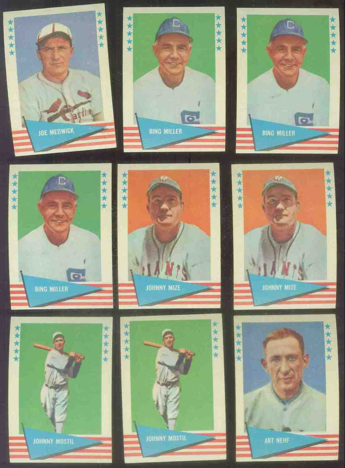 1961 Fleer #.63 Johnny Mize (New York Giants) Baseball cards value