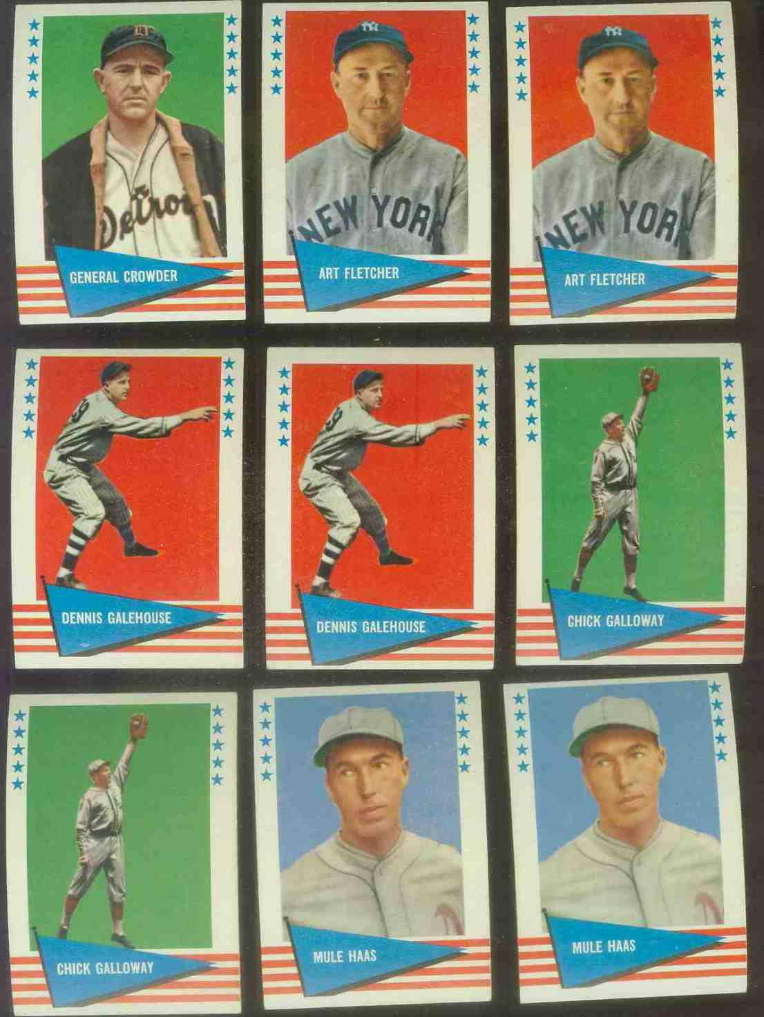 1961 Fleer #106 Art Fletcher SCARCE HIGH NUMBER (Yankees) Baseball cards value