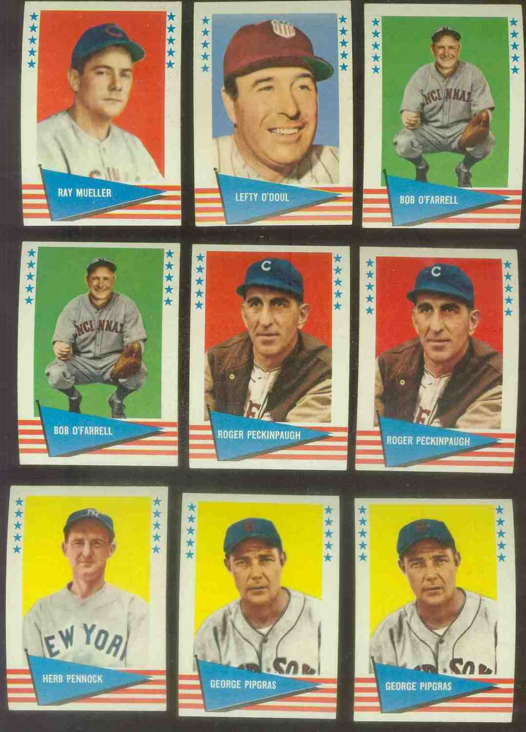 1961 Fleer #132 Roger Peckinpaugh SCARCE HIGH NUMBER (Indians) Baseball cards value