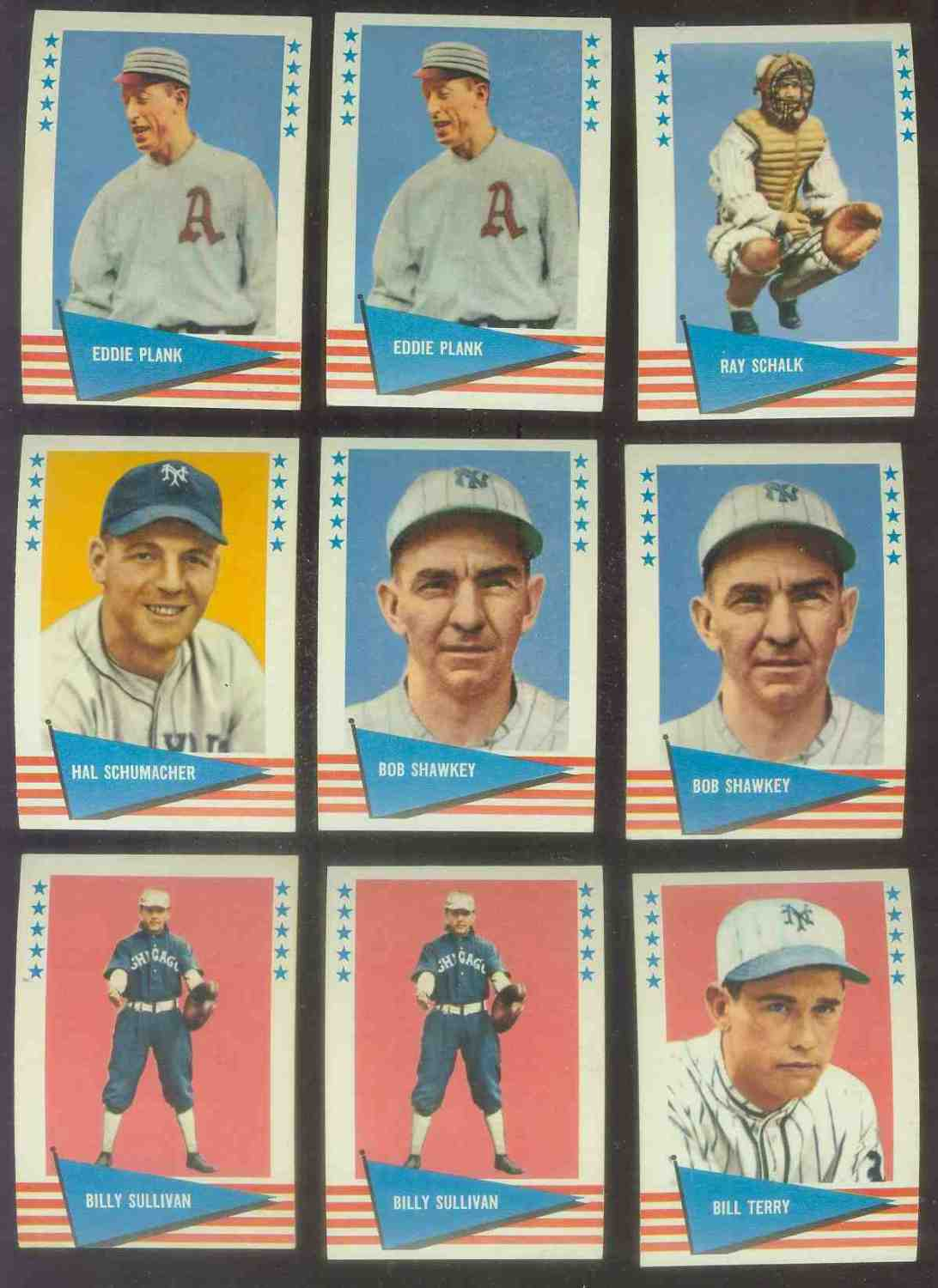 1961 Fleer #142 Bill Terry SCARCE HIGH NUMBER (NEW YORK Giants) Baseball cards value