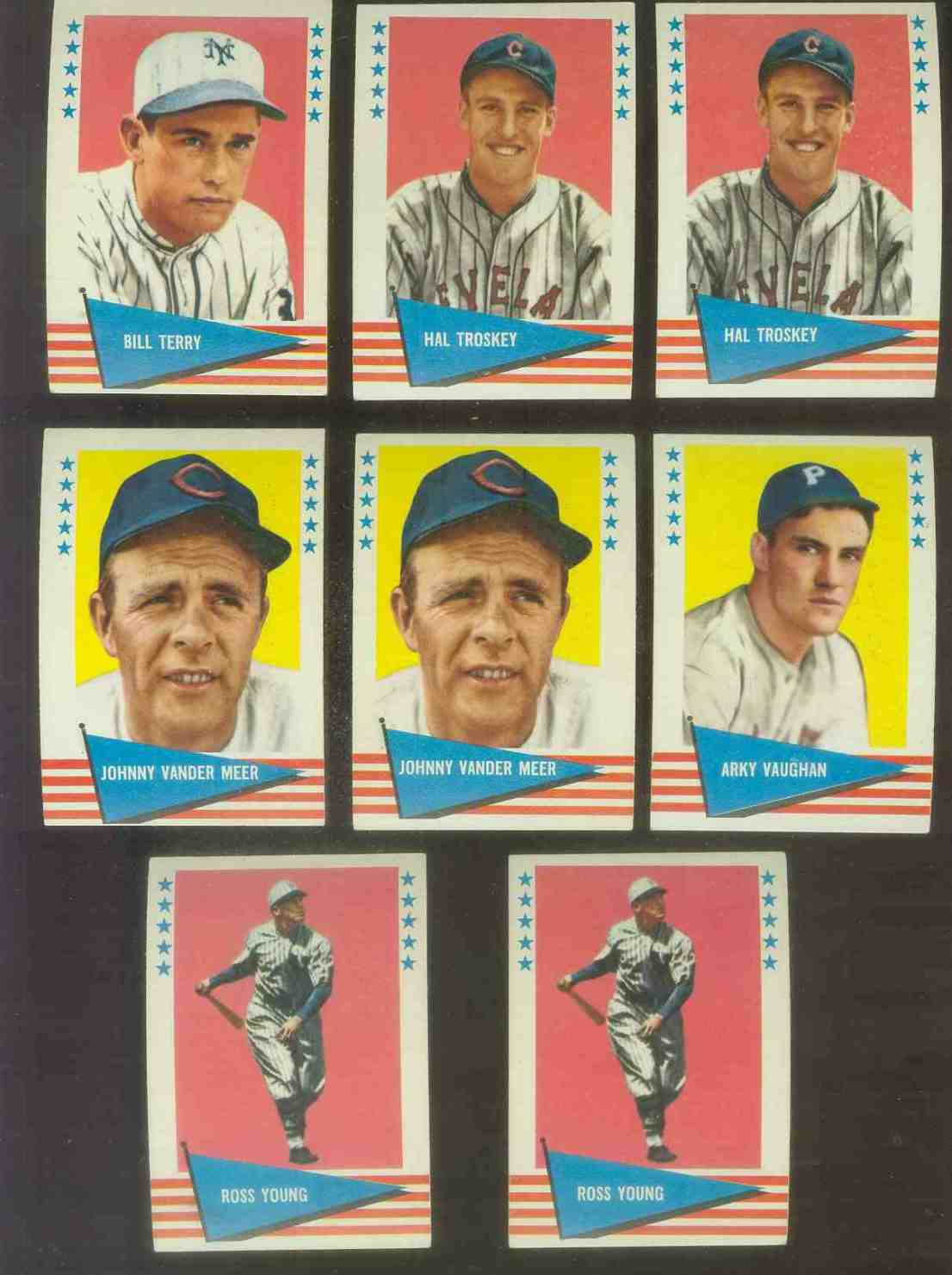 1961 Fleer #148 Arky Vaughan SCARCE HIGH NUMBER (Pirates) Baseball cards value