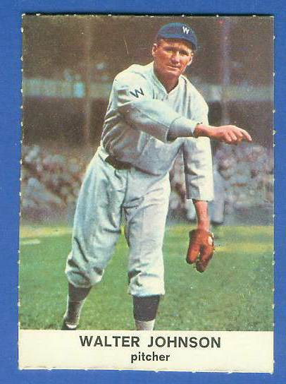 1961 Golden Press #29 Walter Johnson [#a] (Senators) Baseball cards value