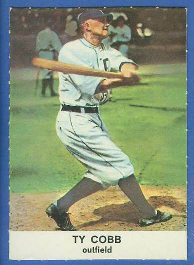 1961 Golden Press #25 Ty Cobb (Tigers) Baseball cards value