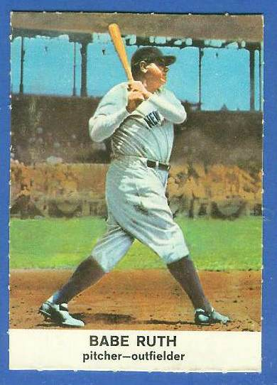 1961 Golden Press #.3 Babe Ruth (Yankees) Baseball cards value