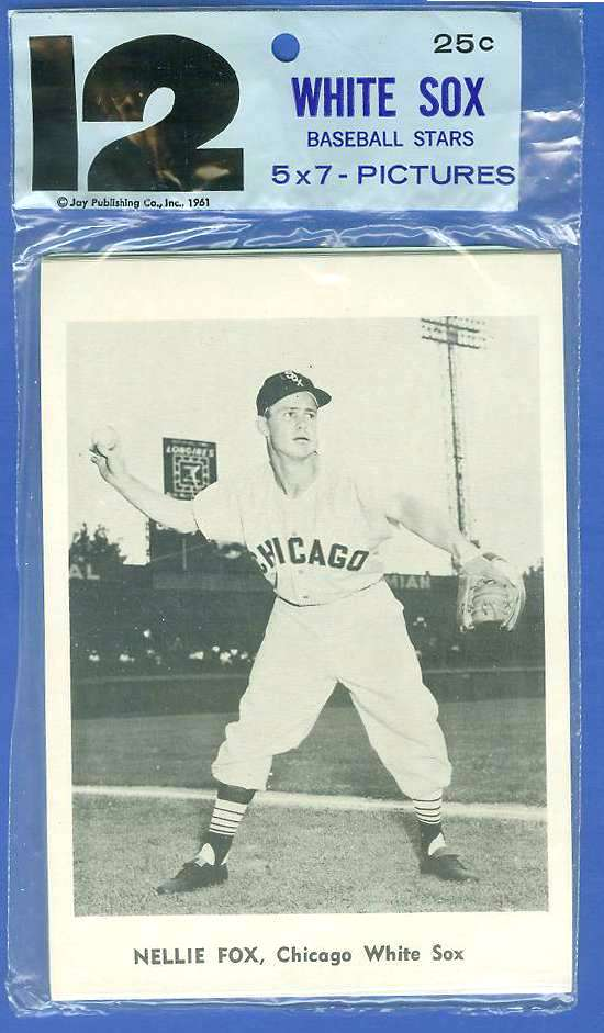 WHITE SOX - 1961 Jay's Publishing Photos TEAM SET (12 cards) Baseball cards value