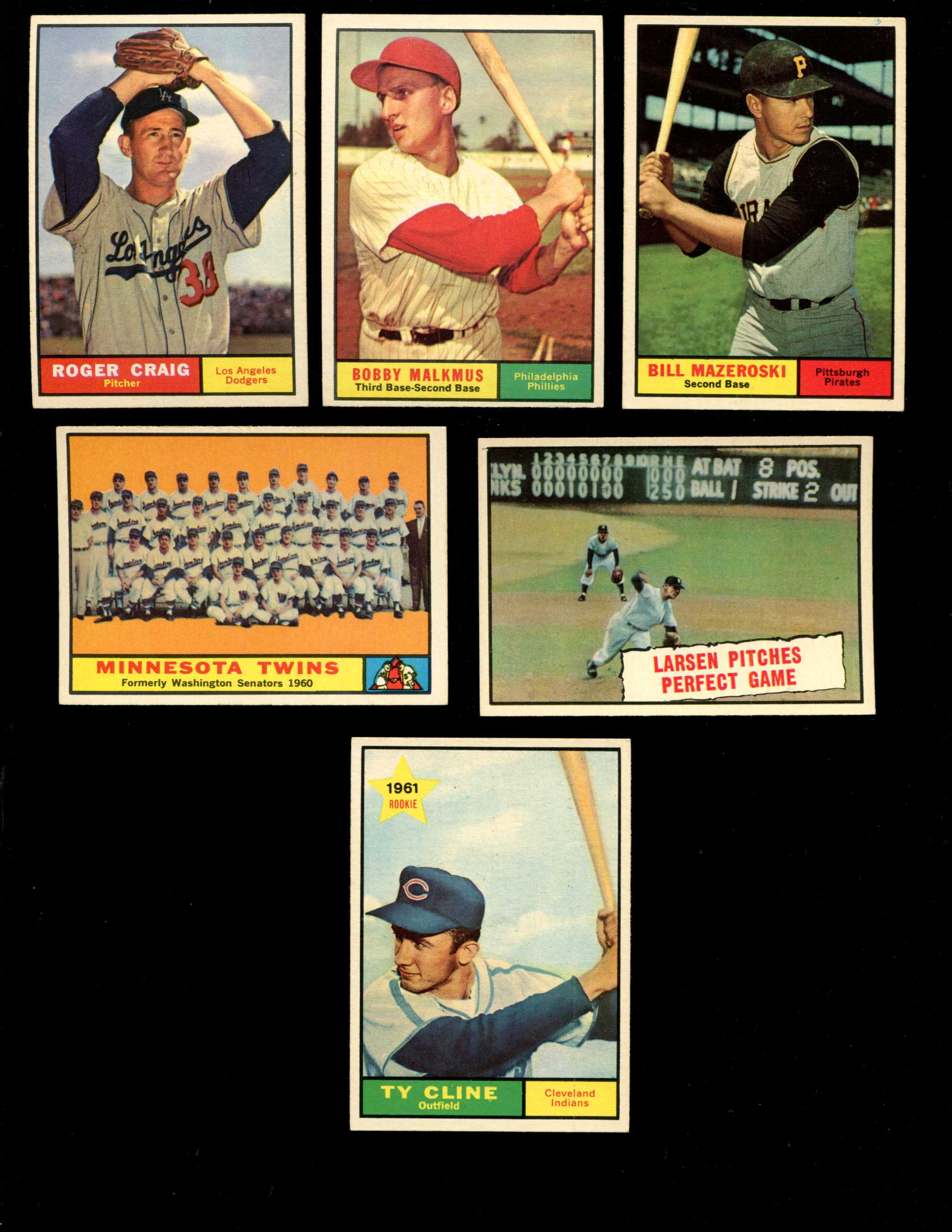 1961 Topps #542 Twins TEAM card SCARCE HIGH # (Twins) Baseball cards value