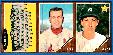 1962 Topps  3-Card PANEL - Ken Boyer (NM/MINT) in center !!! (Cardinals)
