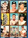 1962 Topps  9-Card PANEL - w/Ken Boyer in Center (Cardinals)