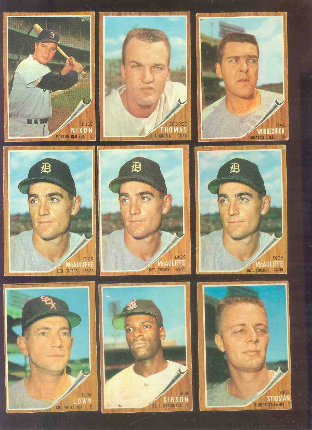 1962 Topps #527 Dick McAuliffe ROOKIE HIGH #.(Tigers) Baseball cards value
