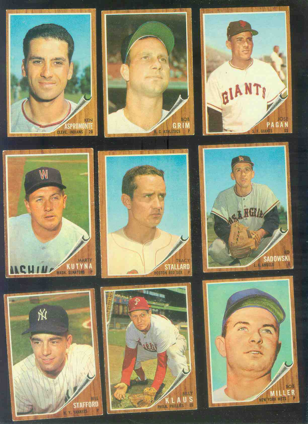 1962 Topps #573 Johnny Logan [#x] HIGH #.(Pirates) Baseball cards value