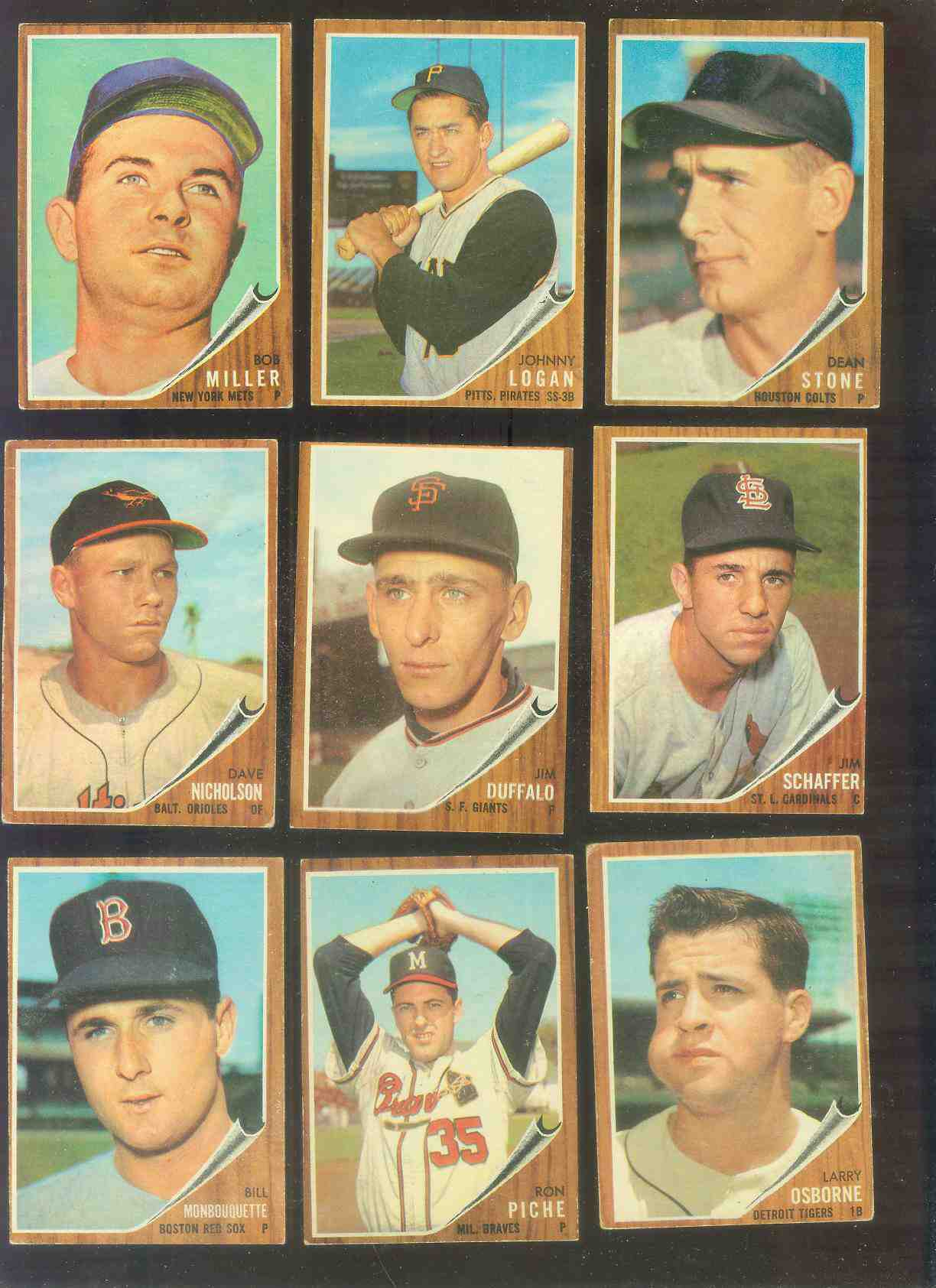1962 Topps #585 Glen Hobbie SHORT PRINT [#x] HIGH #.(Cubs) Baseball cards value