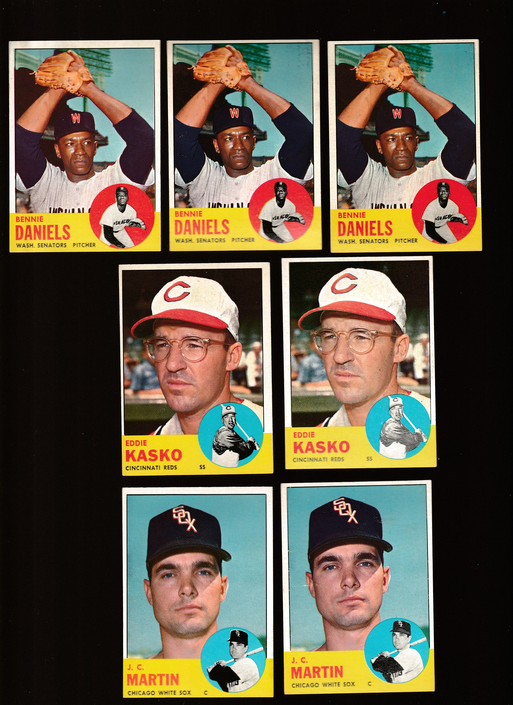 1963 Topps #498 Eddie Kasko SCARCEST MID SERIES (Reds) Baseball cards value