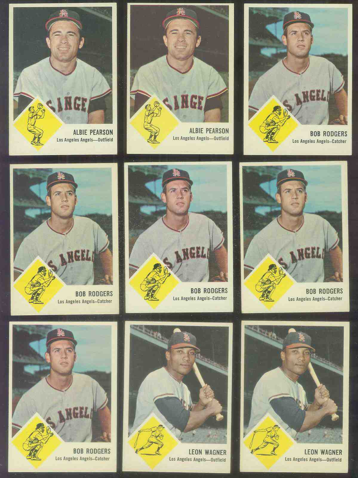 1963 Fleer #20 Bob Rodgers (Angels) Baseball cards value