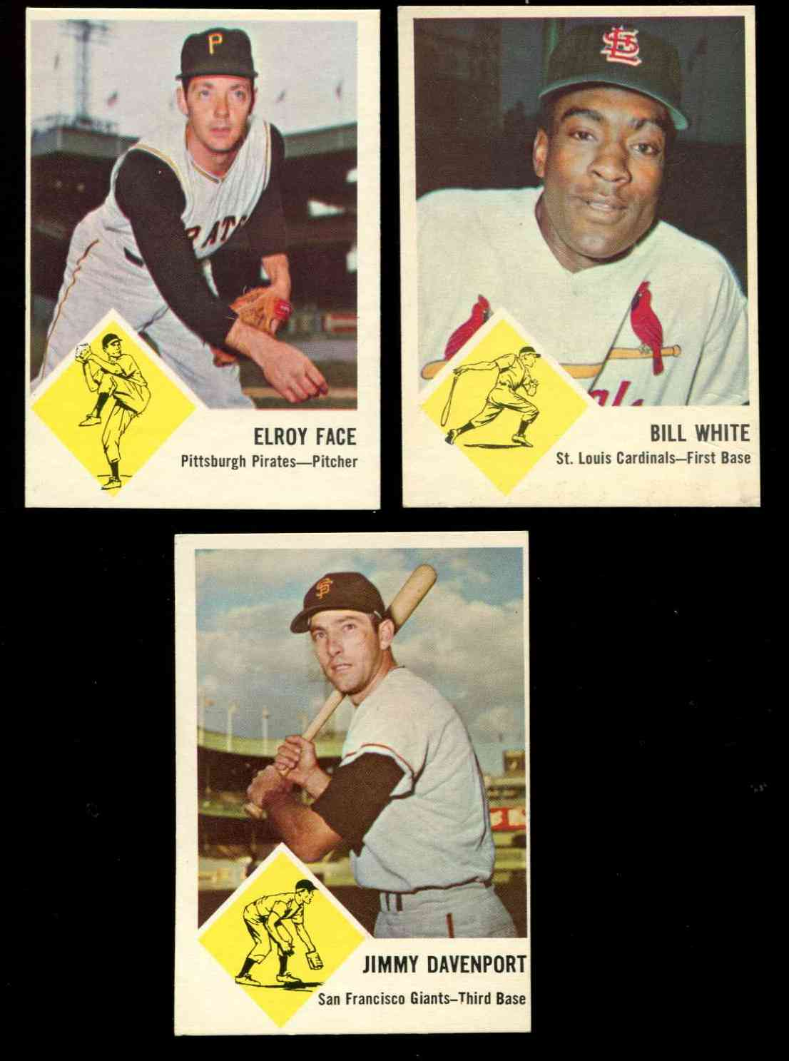 1963 Fleer #57 Roy Face (Pirates) Baseball cards value