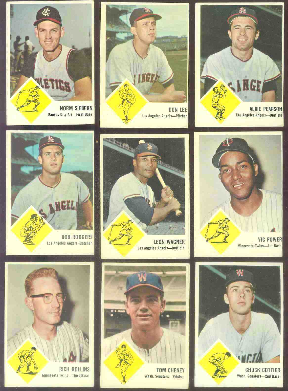 1963 Fleer #24 Rich Rollins [#x] (Twins) Baseball cards value