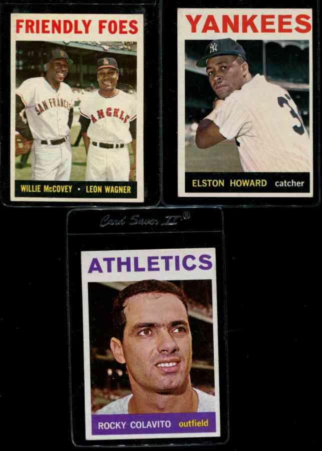 1964 Topps #320 Rocky Colavito [#bsc] (Kansas City A's) Baseball cards value