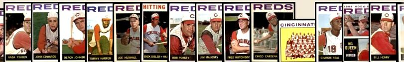 1964 Topps  - REDS Near Team Set/Lot (24/27) Baseball cards value