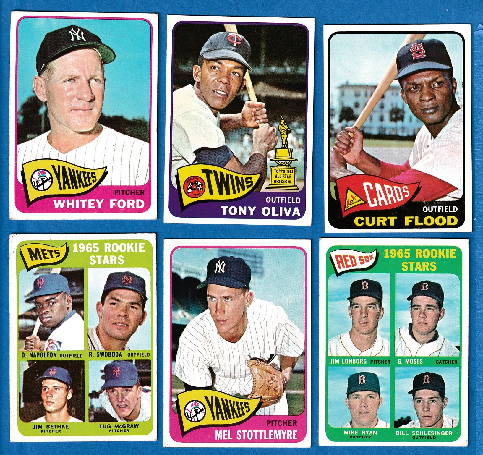 1965 Topps #415 Curt Flood (Cardinals) Baseball cards value