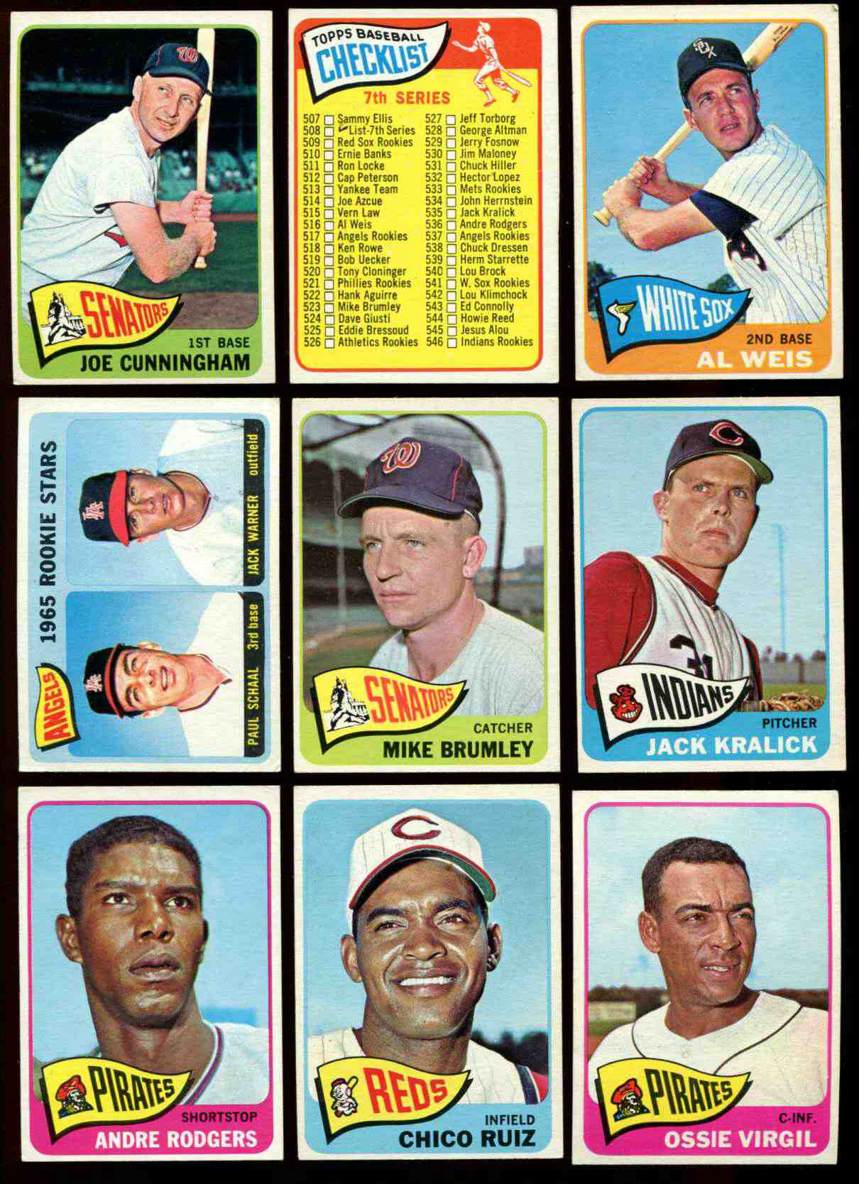 1965 Topps #535 Jack Kralick SHORT PRINT [#x] (Indians) Baseball cards value