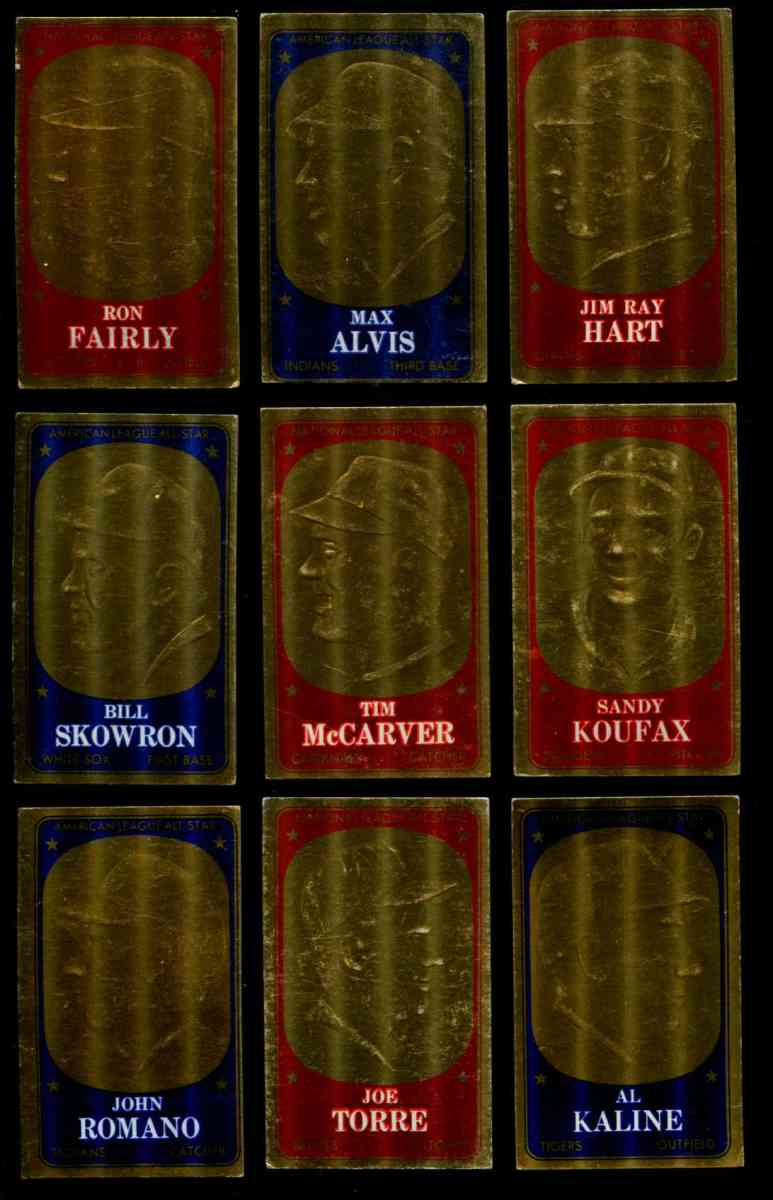 1965 Topps Embossed #.8 Sandy Koufax Baseball cards value