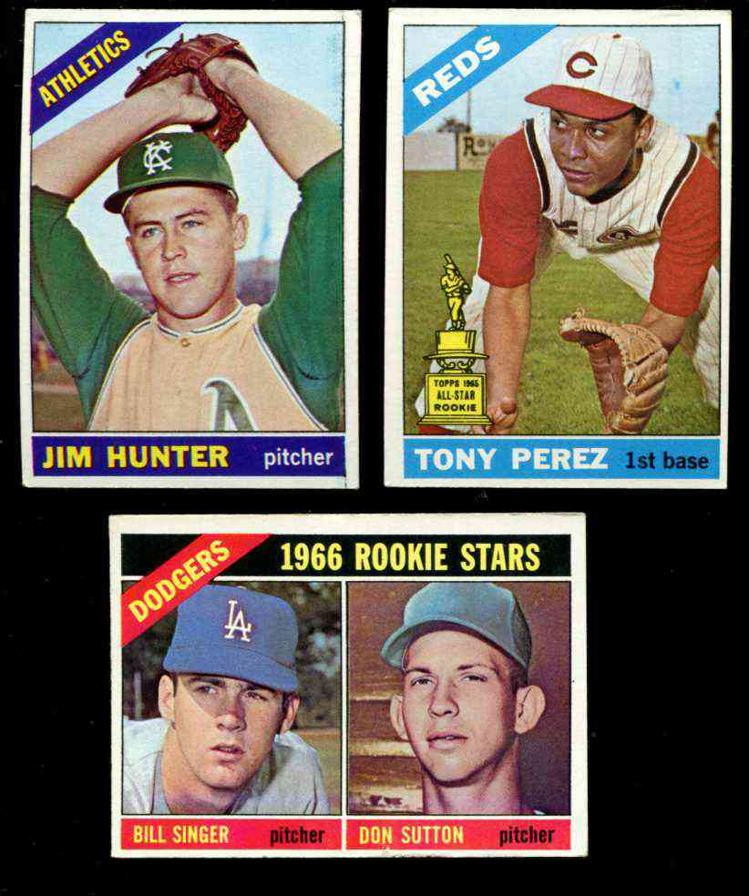1966 Topps #.72 Tony Perez [#csc] (Reds) Baseball cards value