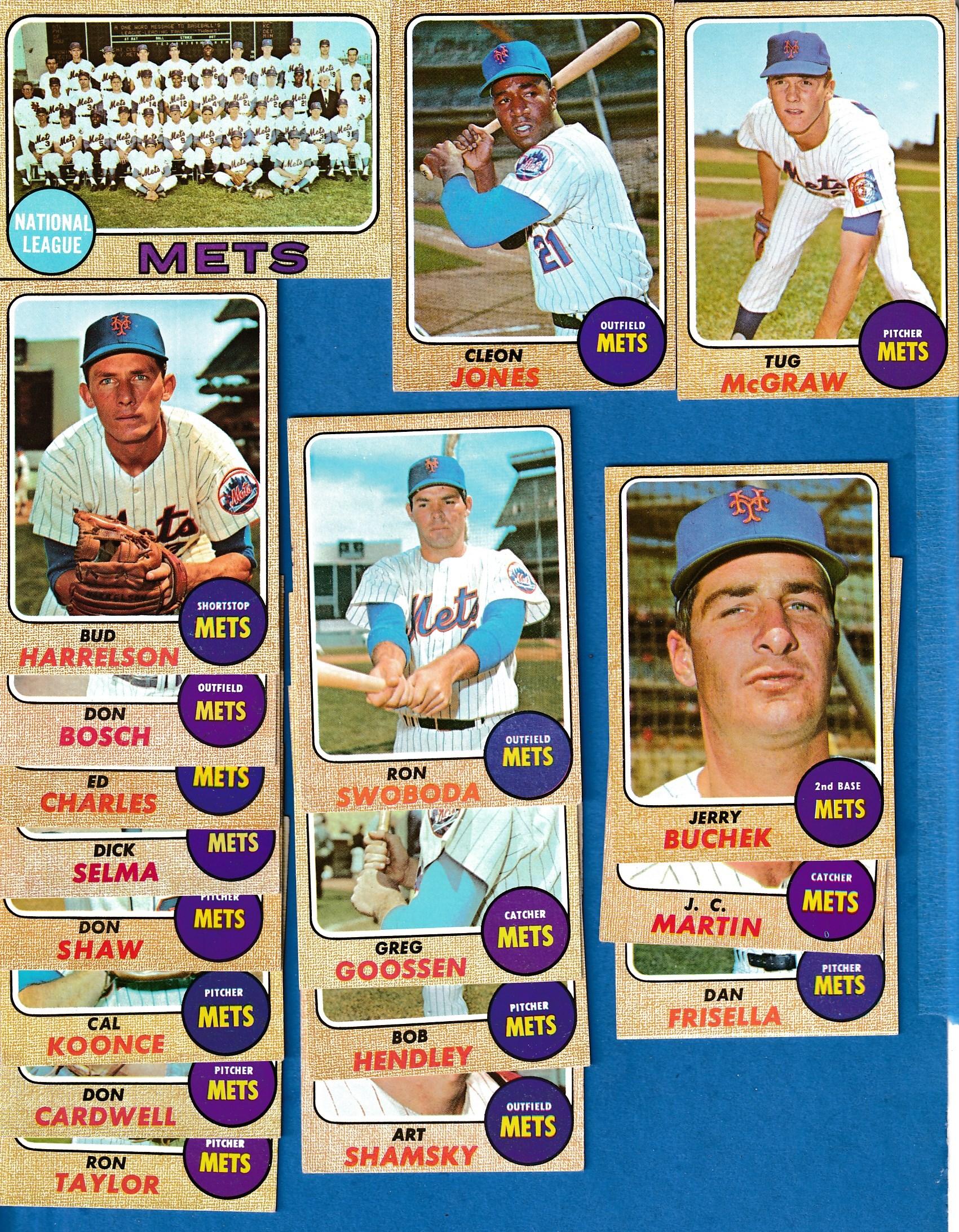 1968 Topps Oakland Athletics Baseball Card #458 Lew Krausse EX-MT