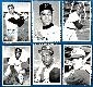 1969 Topps DECKLE EDGE - COMPLETE SET 33 Die-Cut inserts w/HALL-of-FAMERS