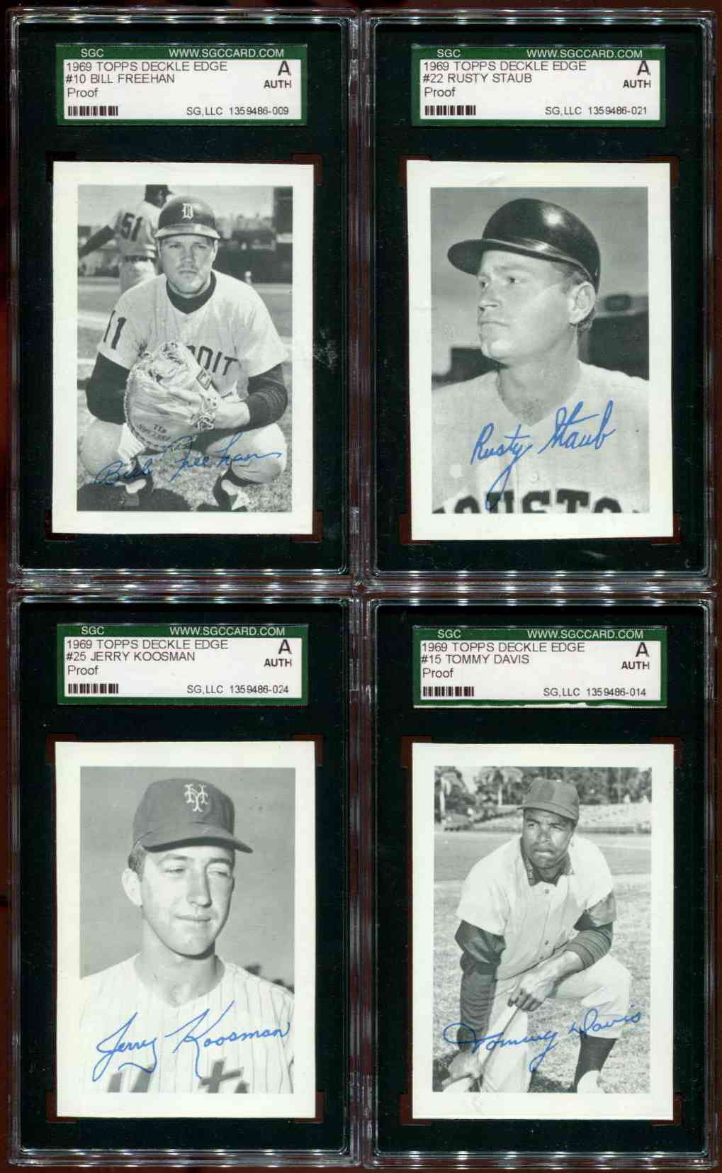 1969 Toppsopc Deckle Edge Baseball Cards Set Checklist Prices