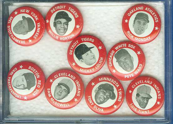 1969 MLBPA Pins #30 Carl Yastrzemski Baseball cards value