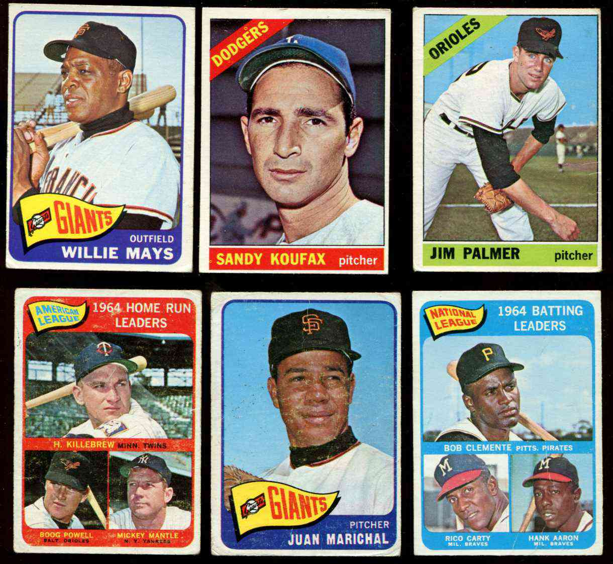 1966 Topps #100 Sandy Koufax [#bsc] (Dodgers) Baseball cards value