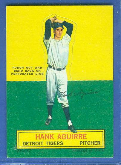 1964 Topps Stand-Ups/Standups - Hank Aguirre [#b] (Tigers) Baseball cards value