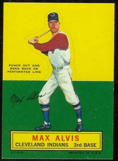 1964 Topps Stand-Ups/Standups - Max Alvis [#a] (Indians) Baseball cards value