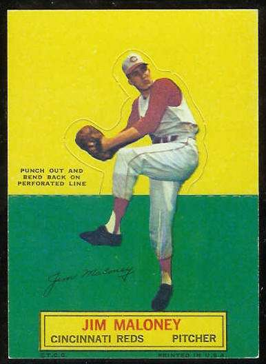 1964 Topps Stand-Ups/Standups - Jim Maloney [#c] (Reds) Baseball cards value