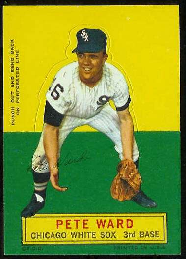 1964 Topps Stand-Ups/Standups - Pete Ward [#a] (White Sox) Baseball cards value