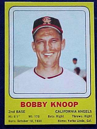 1969 Transogram #17 Bobby Knoop (Angels) Baseball cards value