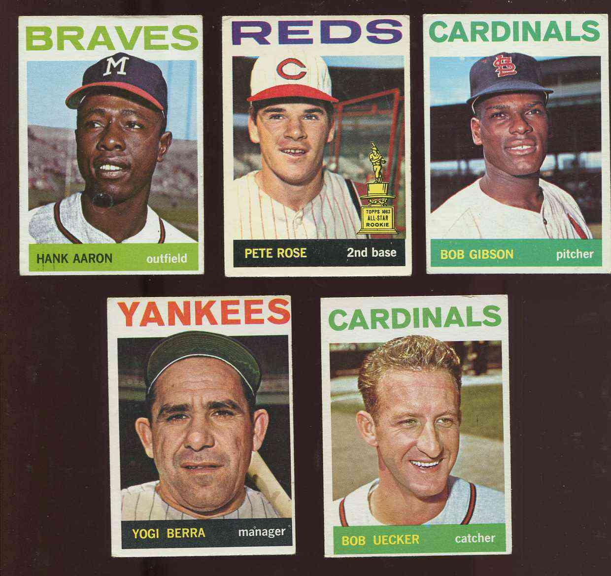 1964 Topps #125 Pete Rose [#x] (Reds) Baseball cards value