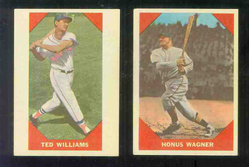 1960 Fleer #.72 Ted Williams (Red Sox) Baseball cards value