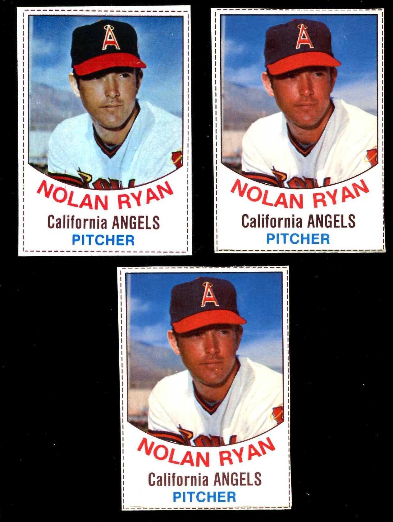 1977 Hostess 81 Nolan Ryan Angels