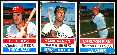 1976 Hostess  - Lot (64) diff. w/7 Hall-of-Famers !!! (HANK AARON...)