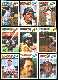 1977 Topps Cloth Stickers  - HALL-of-FAMERS Lot of (9) different !!!