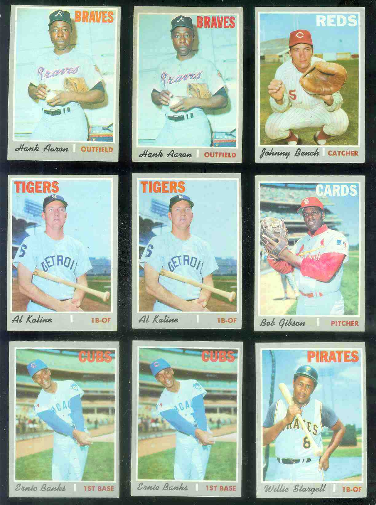 1970 Topps #630 Ernie Banks [#b] (Cubs) Baseball cards value