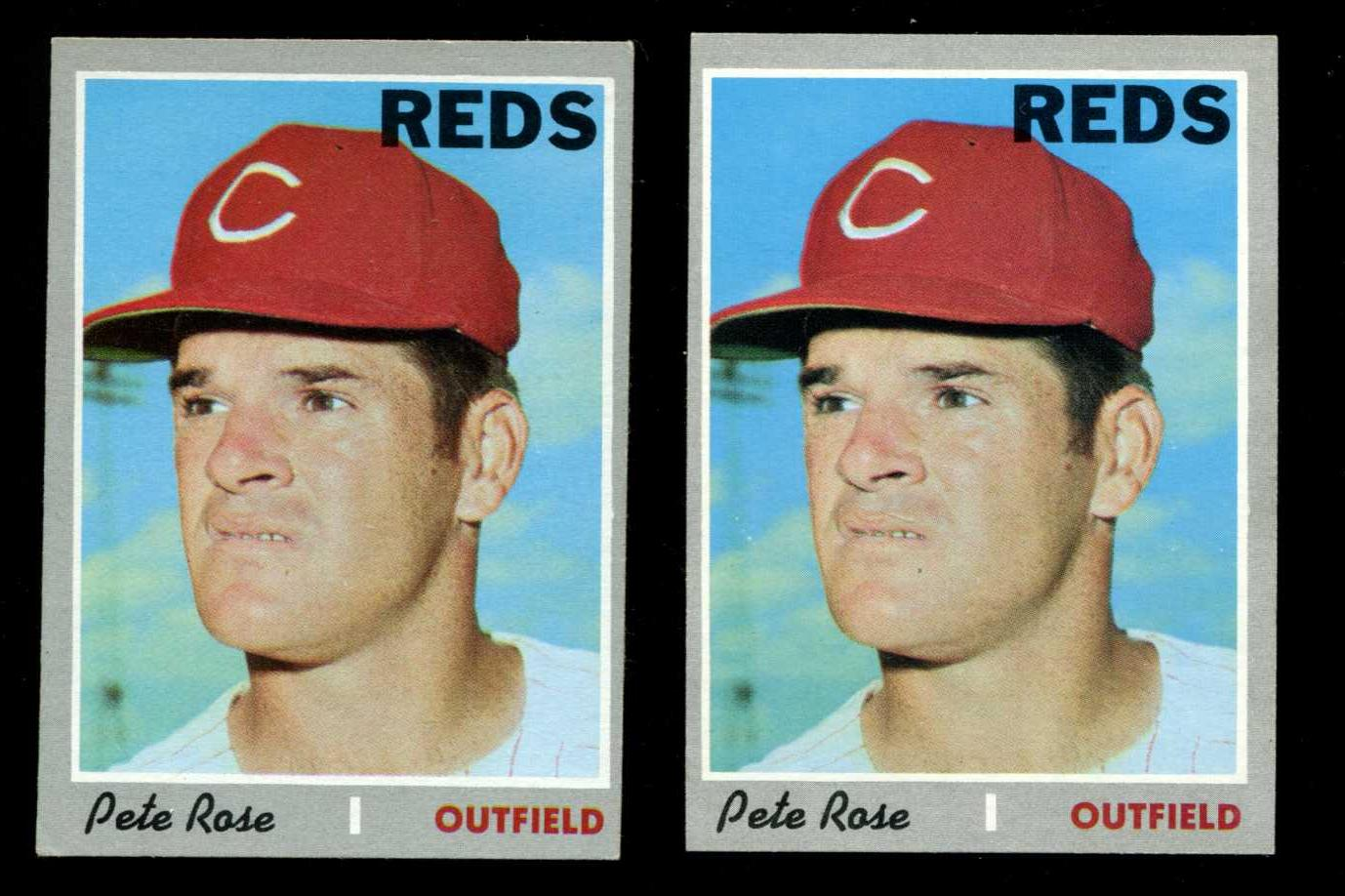 1970 Topps #580 Pete Rose [#a] (Reds) Baseball cards value