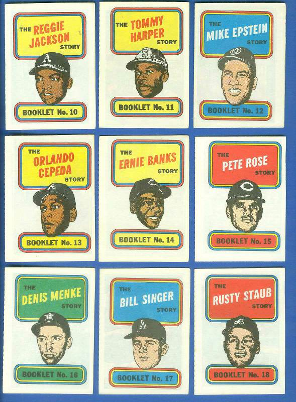 1970 Topps Comic Booklets #10 Reggie Jackson Baseball cards value