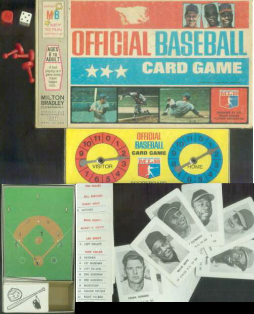 1970 Milton Bradley  COMPLETE GAME !!! BOX,Spinner,Instructions,Field... Baseball cards value