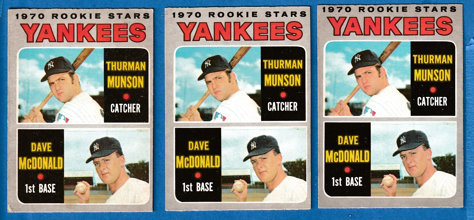 1970 O-Pee-Chee/OPC #189 THURMAN MUNSON ROOKIE (Yankees) Baseball cards value