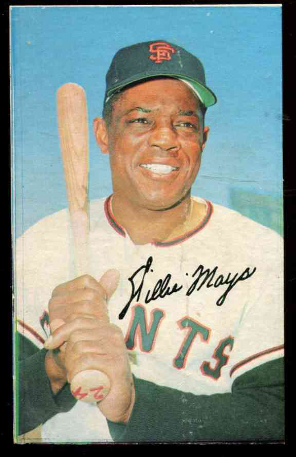 1970 Topps SUPER PROOF - Willie Mays [Blank-Back] (Giants) Baseball cards value