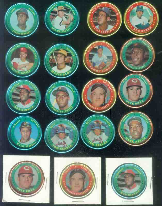 1971 Topps COINS #100 Harmon Killebrew Baseball cards value