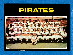 1971 O-Pee-Chee/OPC #603 Pirates TEAM card SCARCE SEMI-HI#